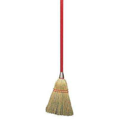 34 in. Corn Lobby Broom (Case of 12)