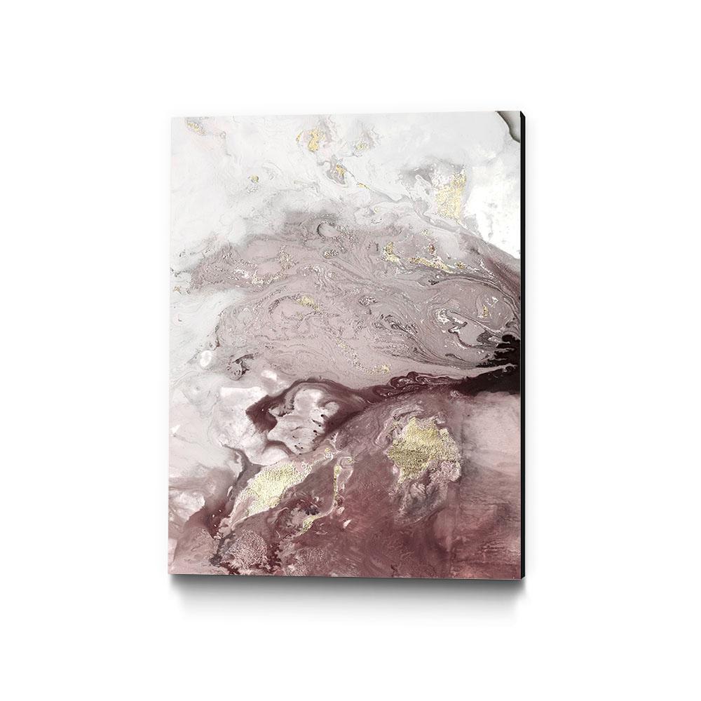 "30 in. x 40 in. ""Ocean Splash I Burgundy Version"" by PI Studio Wall Art"