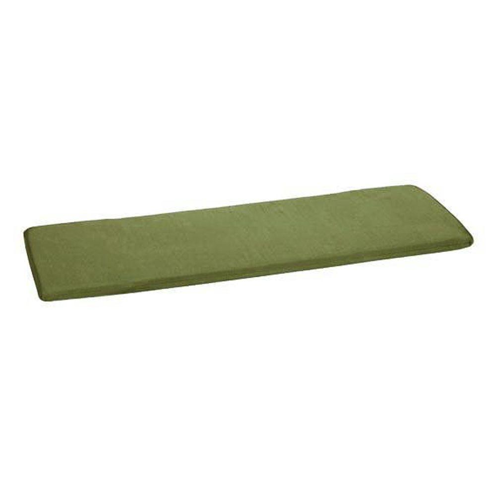 Home Decorators Collection Sunbrella Cilantro Outdoor Bench Cushion