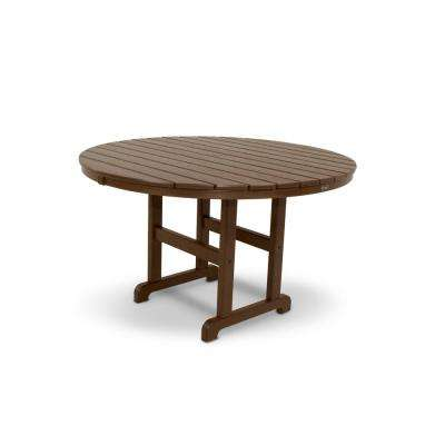 Monterey Bay 48 in. Vintage Lantern Round Patio Dining Table