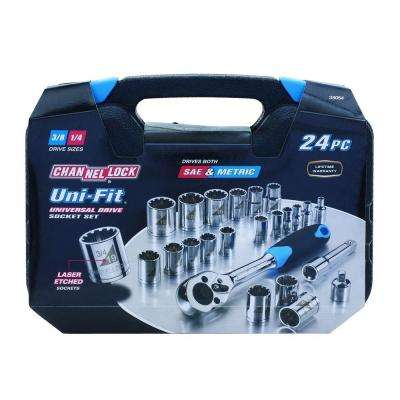 Uni-Fit Socket Set (24-Piece)