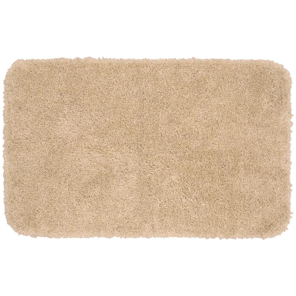 Garland Rug Serendipity Linen 30 In X 50 Washable Bathroom Accent