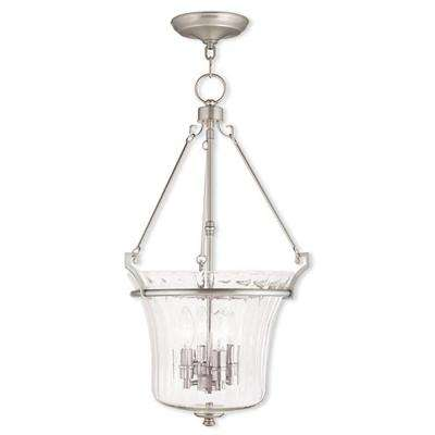 Andover 4-Light Brushed Nickel Pendant