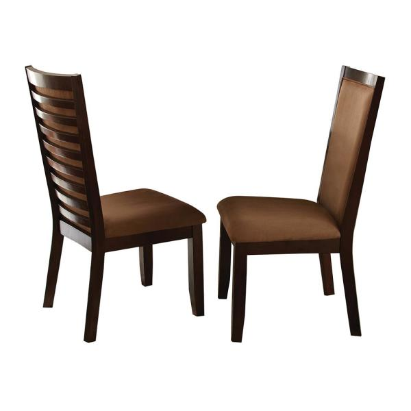 Steve Silver Company Cornell Brown Side Chair (Set of 2) CN500S