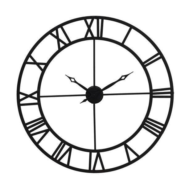 Rove Black Wall Clock