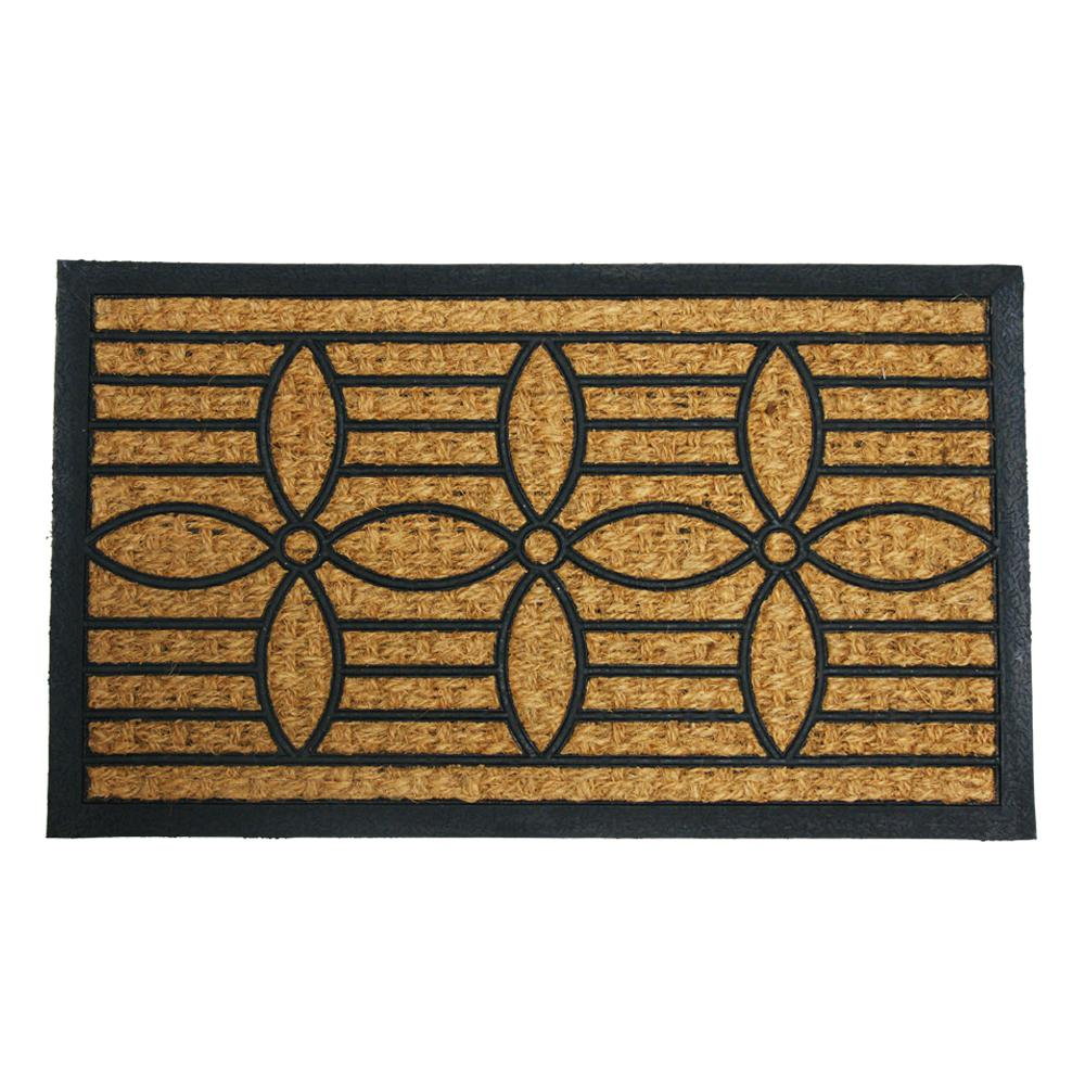 Rubber Cal Cordoba Coco 18 In X 30 Backed Mat