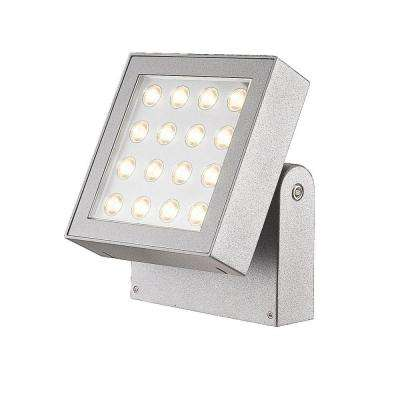 Bravo Collection 16-Light Marine Grey Outdoor LED Surface Mount