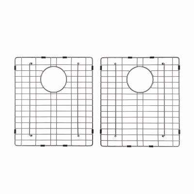Stainless Steel Bottom Grid for KHU102-33 Double Bowl 33in. Kitchen Sink, 14 1/2in. x 16 1/2in. x 1 3/8in.