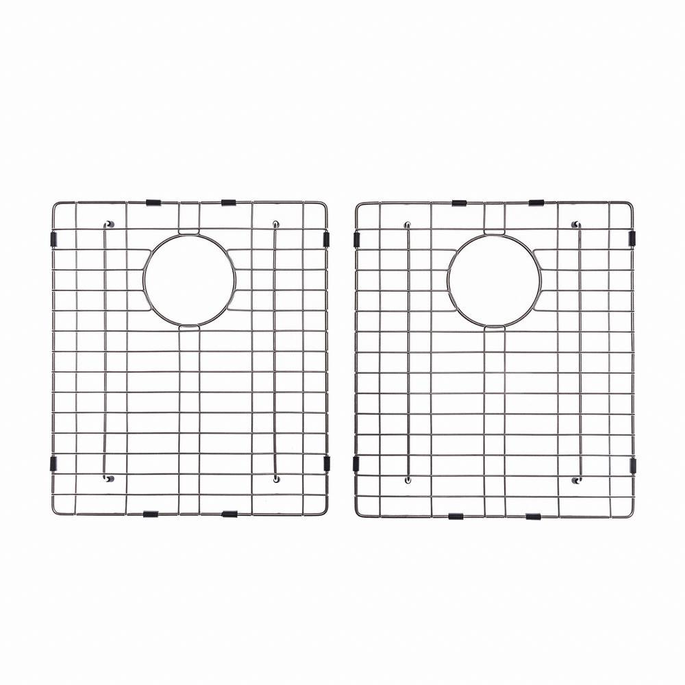 15 in. x 17 in. Bottom Sink Grid in Stainless Steel