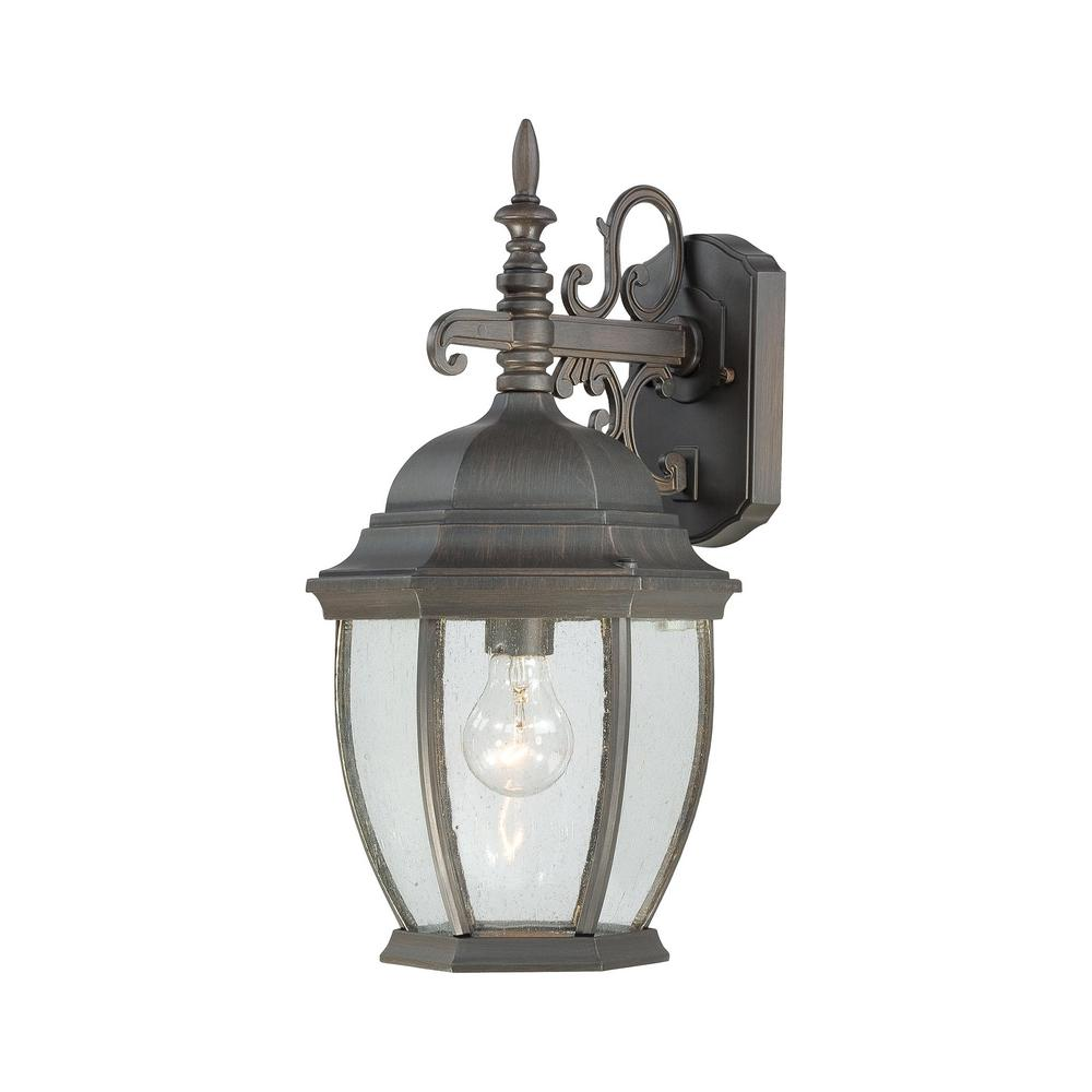 Covington  Light Painted Bronze Outdoor Wall Mount Lantern
