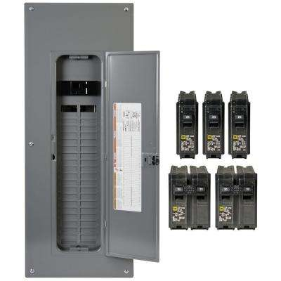 square d main breaker box kits h4080m200pqcvp 64_400_compressed 200 breaker boxes power distribution the home depot fuse box to breaker box cost at bayanpartner.co