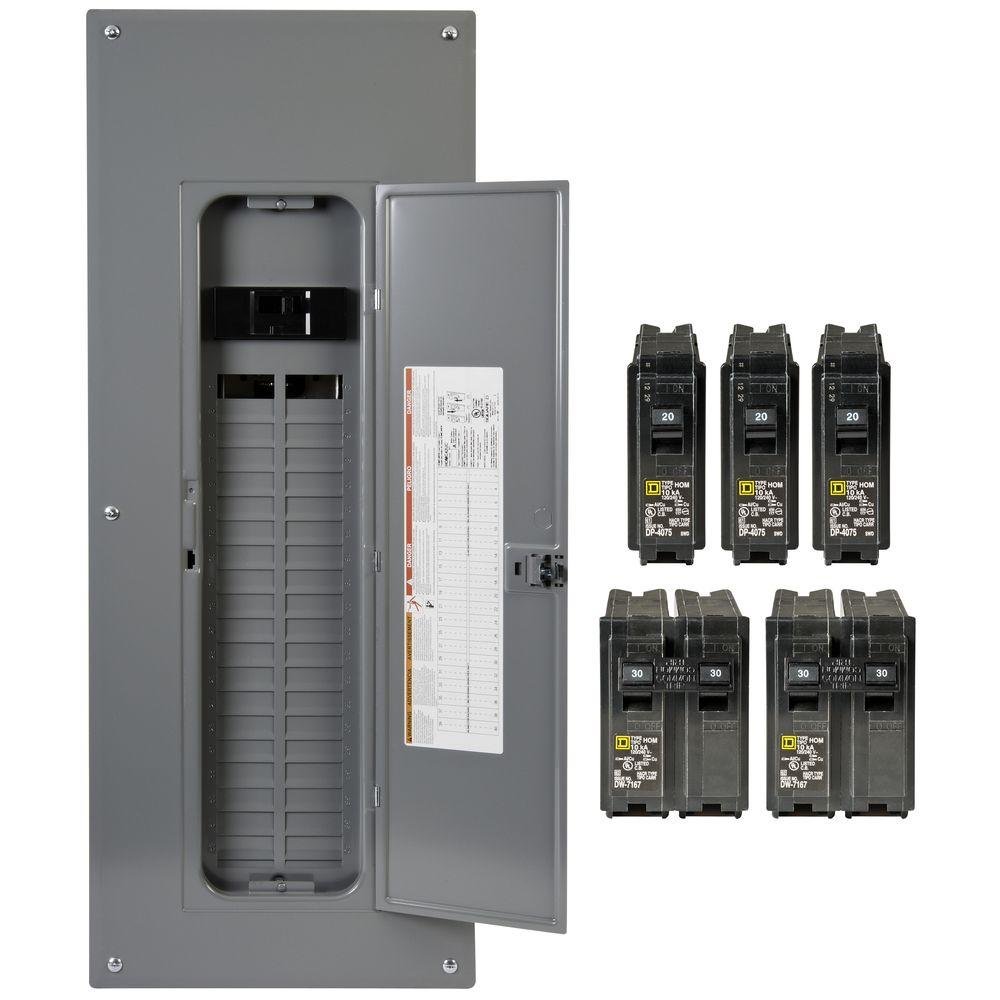 Breaker Boxes Electrical Panels Protective Devices The Home Depot