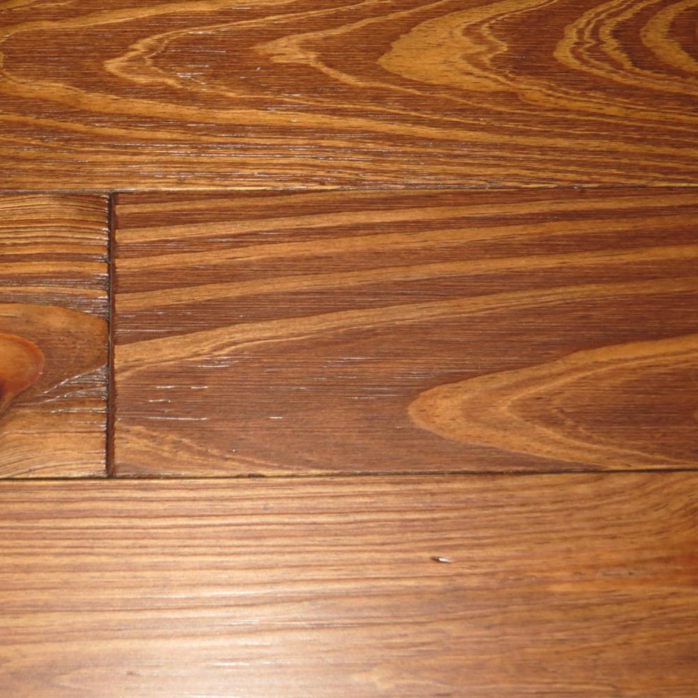Antiqued Sienna Pine 3/4 in. Thick x 5-1/8 in. Wide x Random Length Solid Hardwood Flooring (23.3 sq. ft. / case)