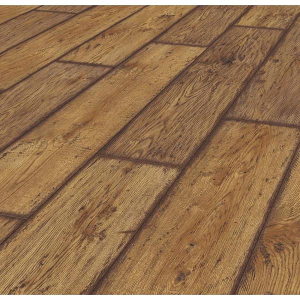 Lifeproof Rustic Brown Oak 12 Mm Thick, 12mm Thick Laminate Flooring