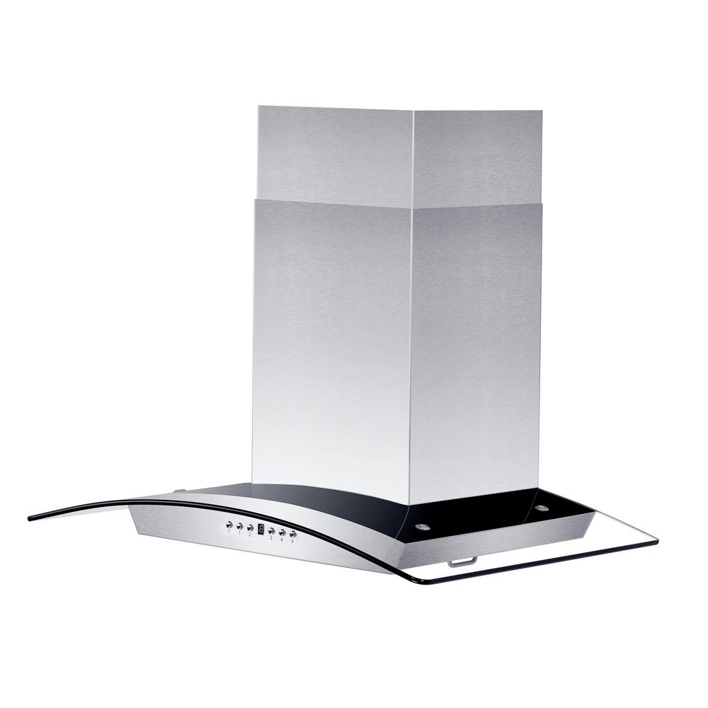 Zline Kitchen And Bath 36 In Convertible Wall Mount Range Hood Stainless Steel Gl