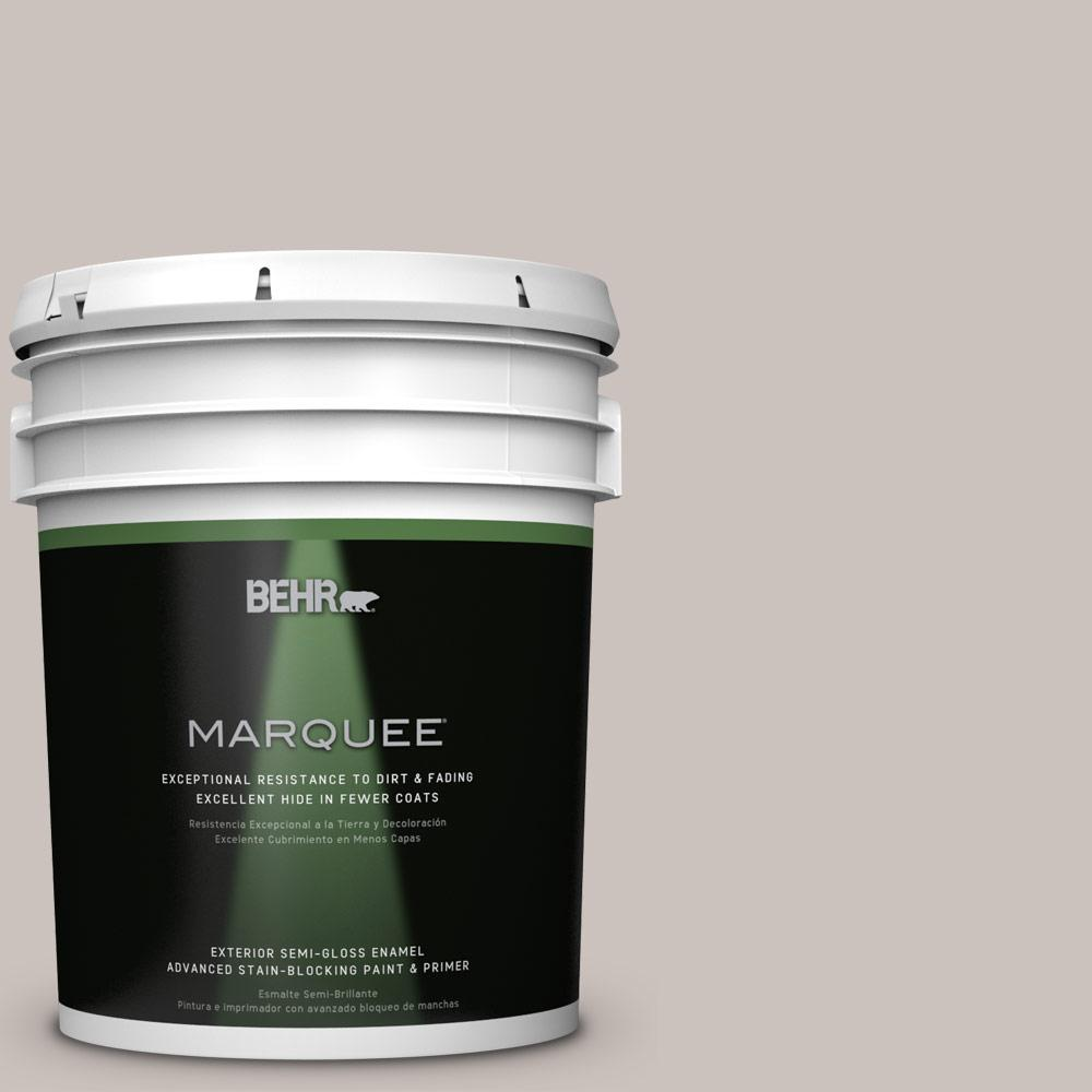 BEHR MARQUEE 5-gal. #BXC-59 Pavestone Semi-Gloss Enamel Exterior Paint