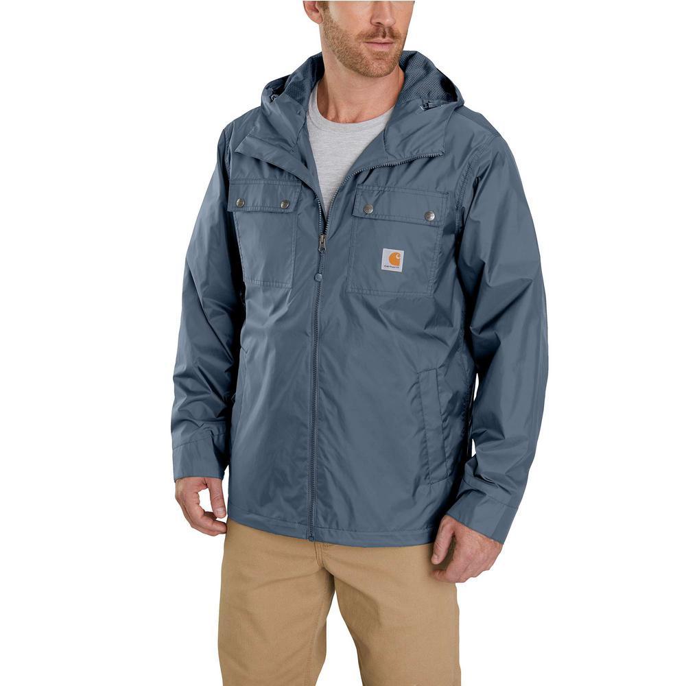 df92e2bc0967 Carhartt Men s Large Steel Nylon Rockford Jacket-100247-075 - The ...