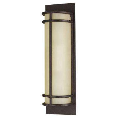 Fusion 2-Light Grecian Bronze Sconce