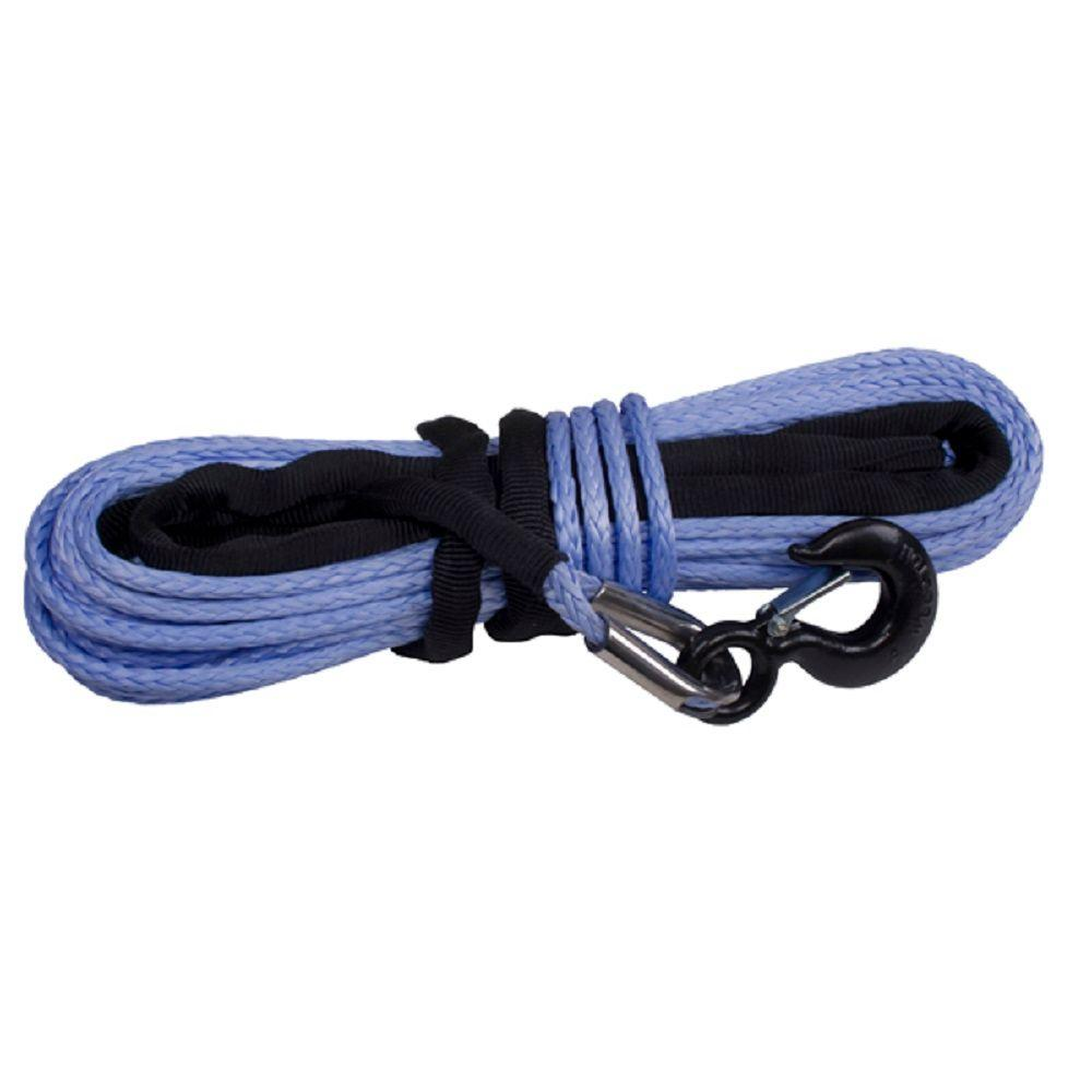 Rugged 3/8 in. x 94 ft. Synthetic Winch Line
