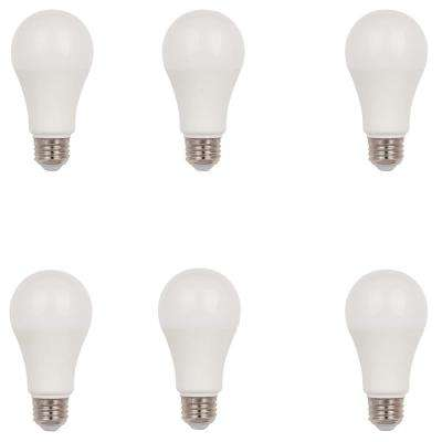 100W Equivalent Omni A19 LED Light Bulb, Cool White (6-Pack)