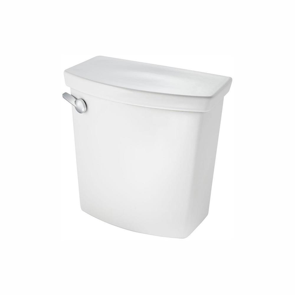 American Standard H2Optimum 1.28/1.6 GPF Dual Flush Toilet Tank Only in White