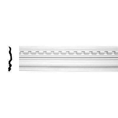 6-3/8 in. x 7-7/8 in. x 94-1/2 in. Polyurethane Dentil Crown Moulding