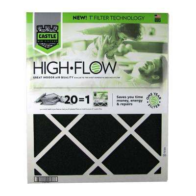 20 in. x 24 in. HVAC Air Filter - FRP 81 year High Flow Filter