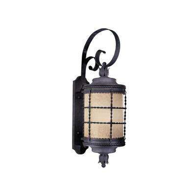 Mallorca 1-Light Spanish Iron Outdoor Wall Mount Sconce