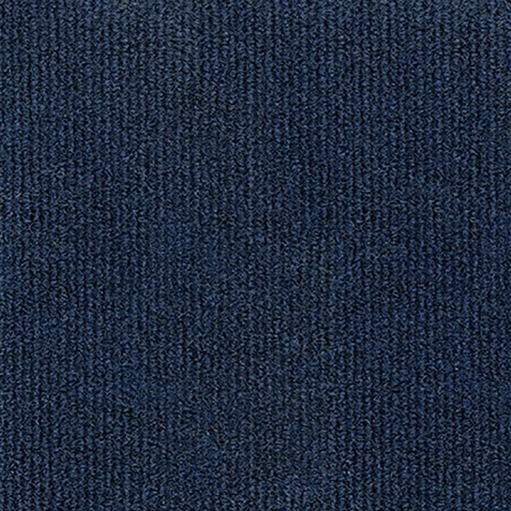 Design Smart Ocean Blue Rib Texture 18 in. x 18 in.