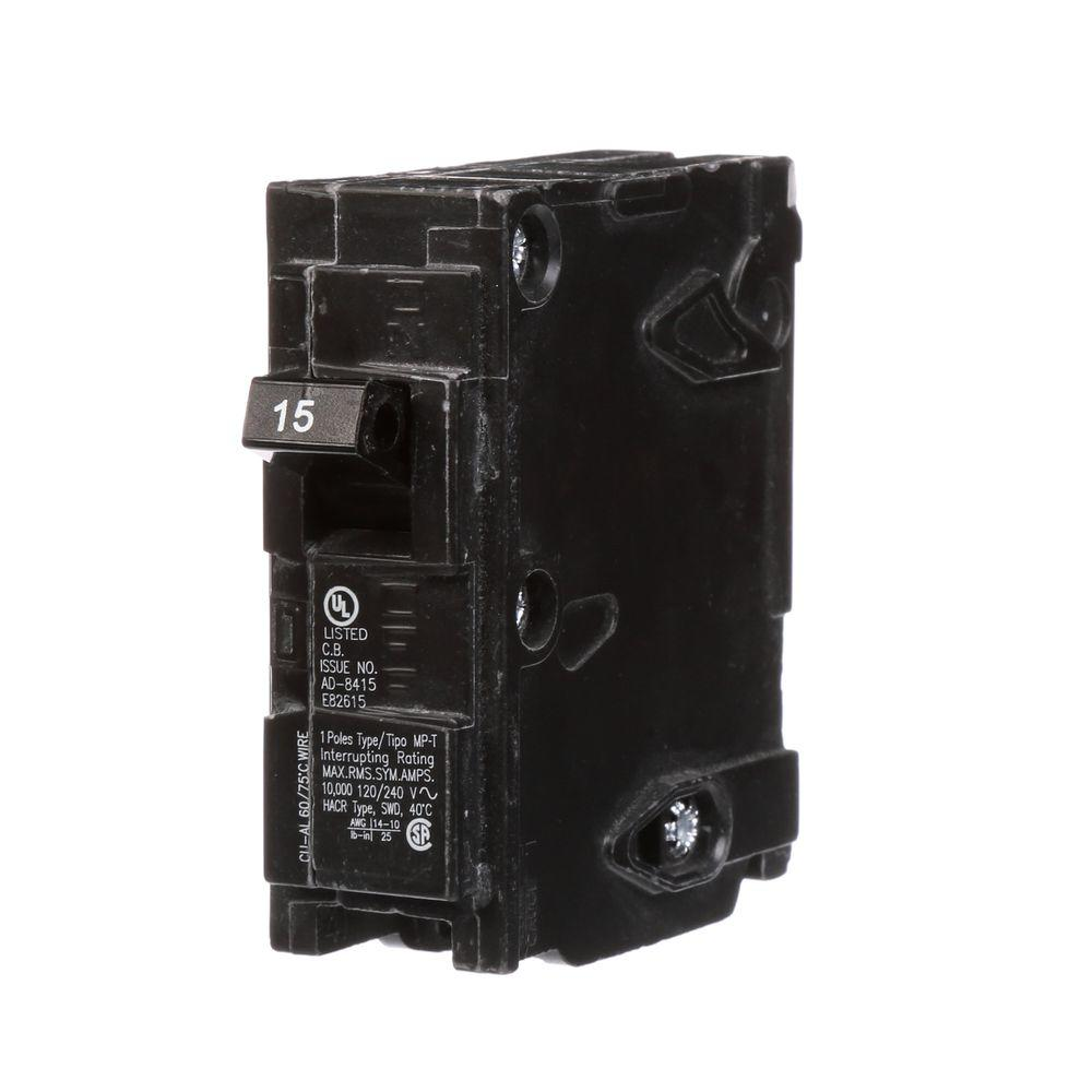 Murray 15 Amp Single-Pole Type MP-Circuit Breaker