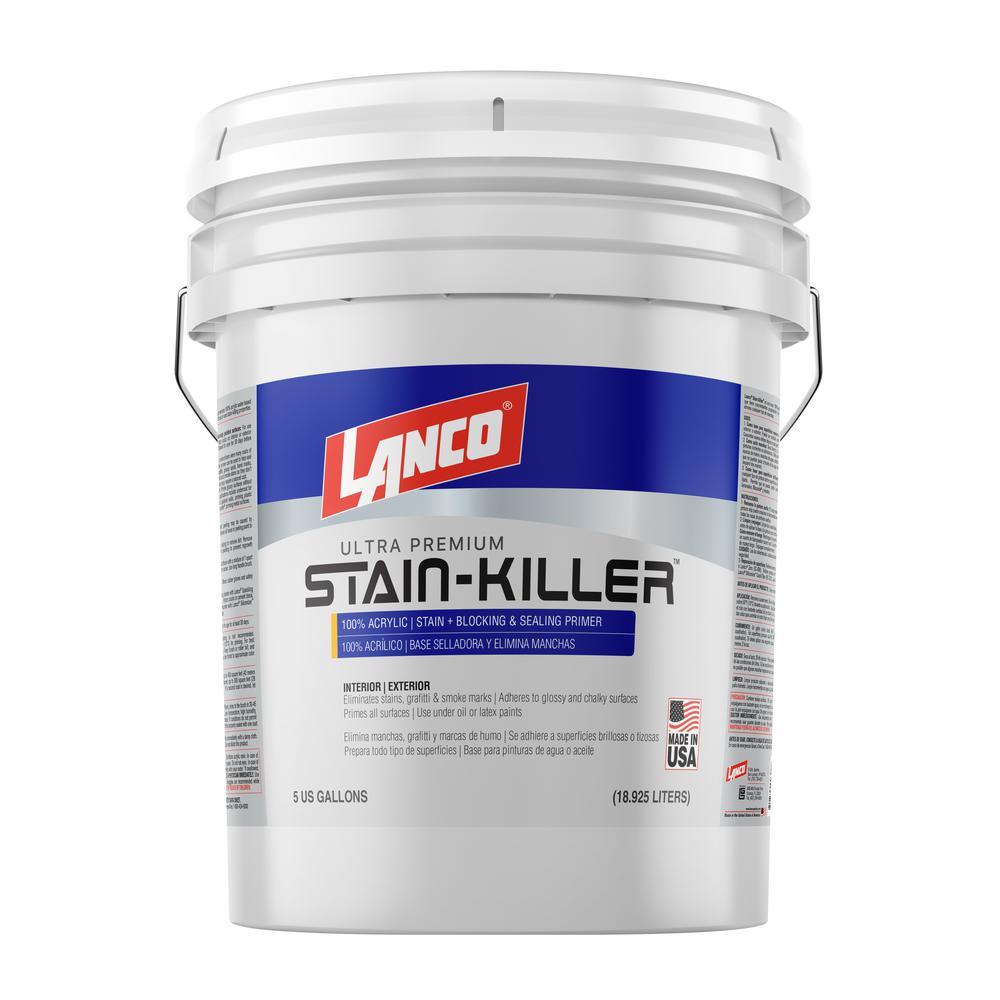Stain Killer 5 Gal. Ultra Premium 100% Acrylic Sealing Wall Primer