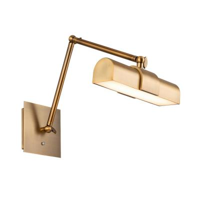 Piano 23 in. Aged Brass LED Adjustable Picture Light, 3000K