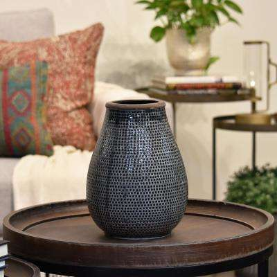 Gray Washed Ceramic Decorative Vase