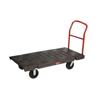 30 in. x 60 in. Heavy Duty Platform Truck with 8 in. Rubber Casters