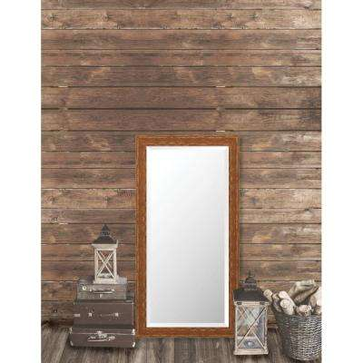 Remington 24.75 in. x 48.75 in. French Antique Wide Framed Bevel Mirror