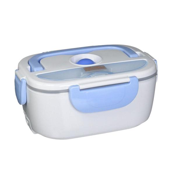 Electric Lunch Box in White Light Blue