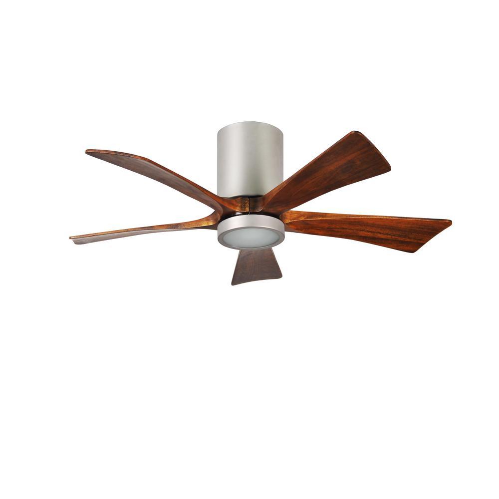 Rylie 42 in. 5-Blade Brushed Nickel Ceiling Fan