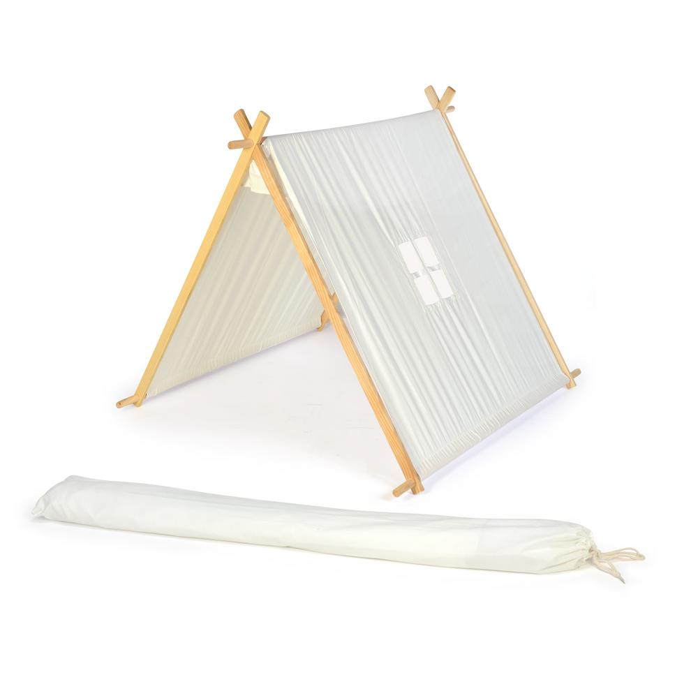 Trademark Innovations 3.5 ft. Canvas A-Frame Teepee Playset ...