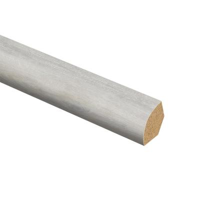 Ackland Oak 5/8 in. Thick x 3/4 in. Wide x 94 in. Length Laminate Quarter Round Molding
