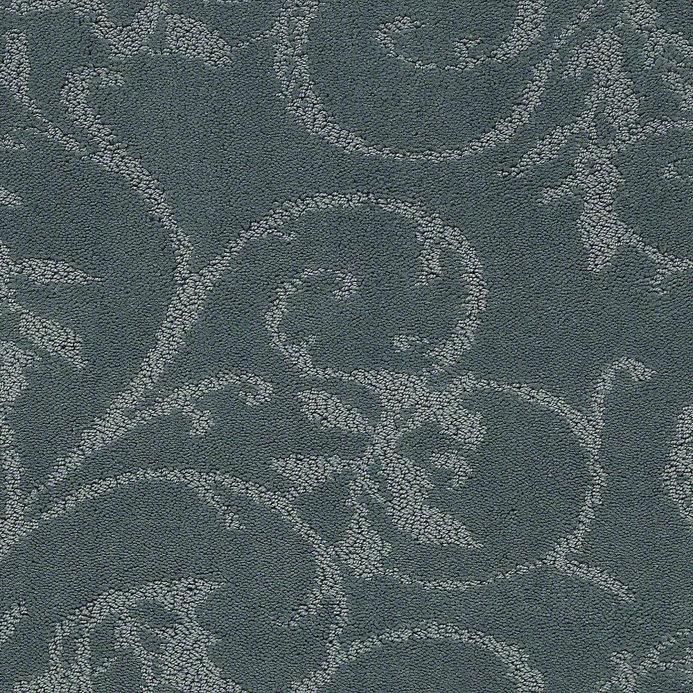 Carpet Sample - Cheriton - Color Lagoon Pattern 8 in. x 8 in.