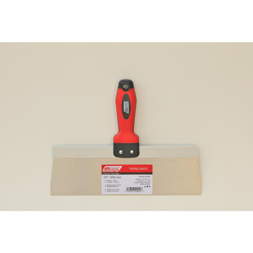 Wal-Board Tools 12 in. Stainless Steel Blade Taping Knife
