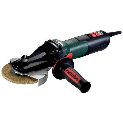 9.5 Amp Corded 5 in. WEVF 10-125 QUICK INOX Flat Head Angle Grinder