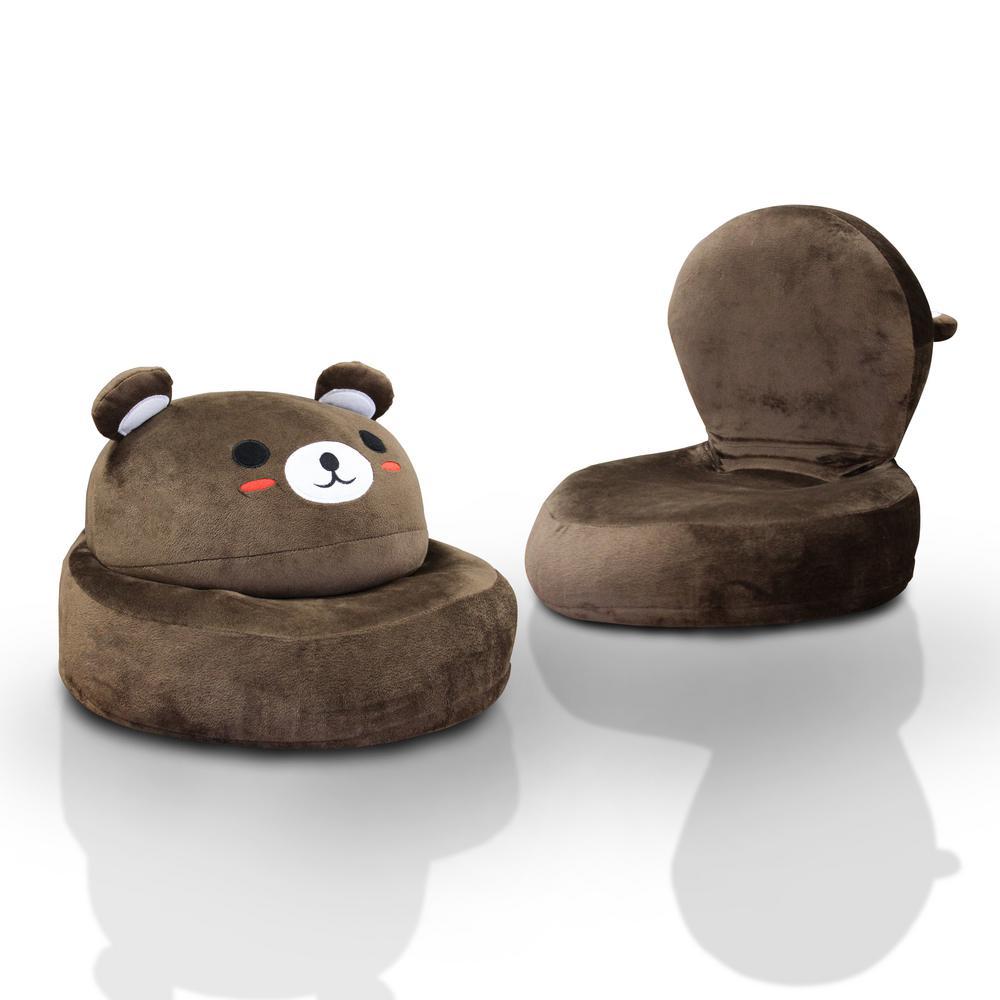Mesa Fabric Bear Character Folding Chair