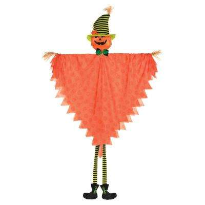 84 in. Halloween Large Hanging Jack-O-Lantern Decoration