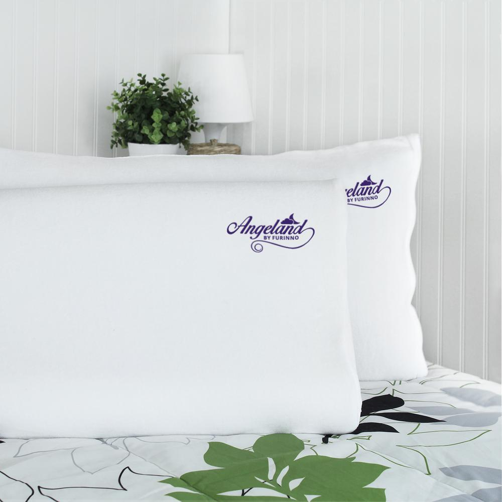 Angeland Contour Memory Foam Pillow (2-Pack)
