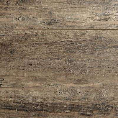 Take Home Sample - English Vanity Walnut Laminate Flooring - 5 in. x 7 in.