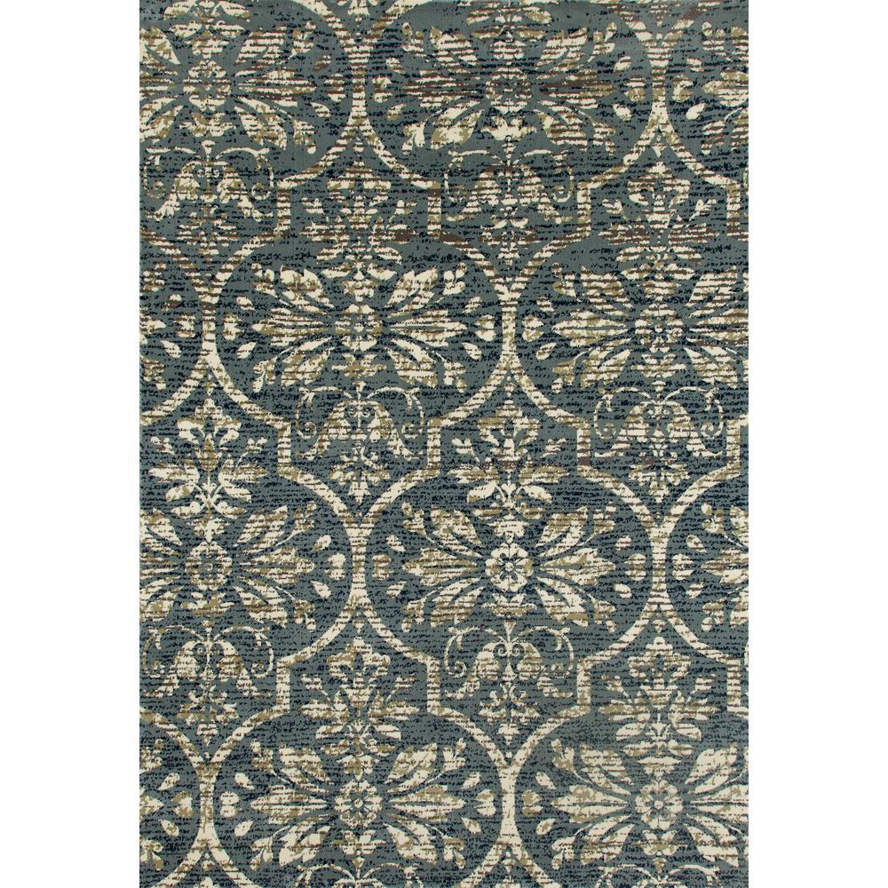 Art Carpet London Bud Vase Medium Blue 3 Ft. 11 In. X 5 Ft