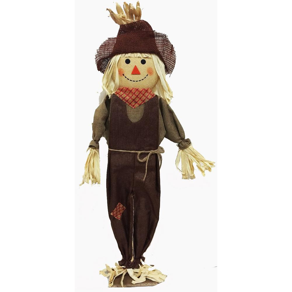 Home Accents Holiday 36 in. Standing Scarecrow Assorted