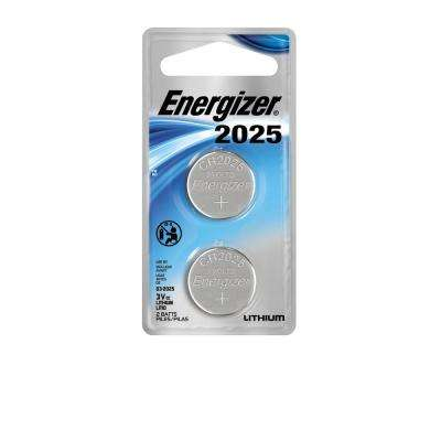 2025 3-Volt Electronic Watch Battery (2-Pack)