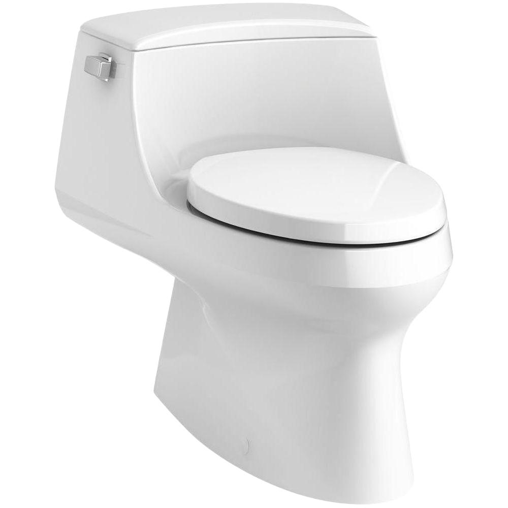 1 28 Gpf Single Flush Elongated Toilet